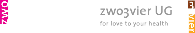 zwo3vier Logo